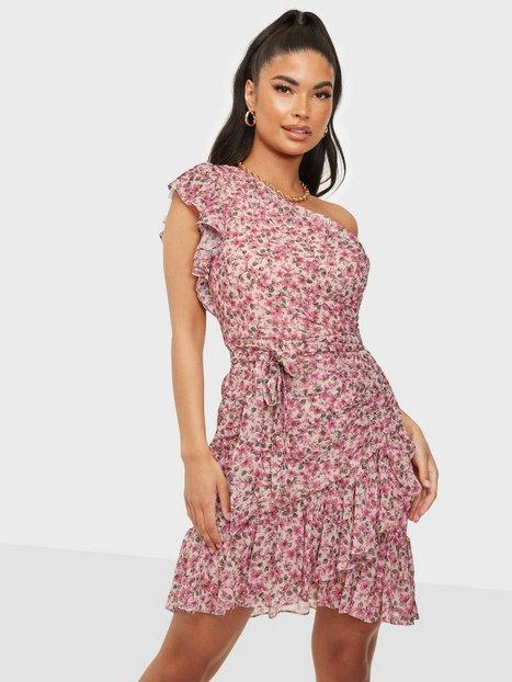 Forever New Anna One Shoulder Ruched Mini Dress Skater kjoler