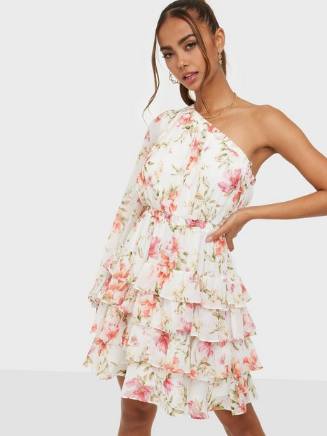 Forever New Priya Ruffle One Shoulder Mini Dress Loose fit