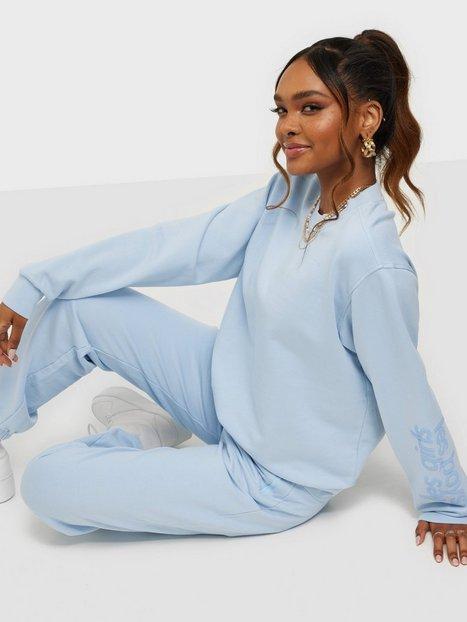 Les Girls Les Boys Ultimate Fit Sweats Crewneck Sweatshirts Blue