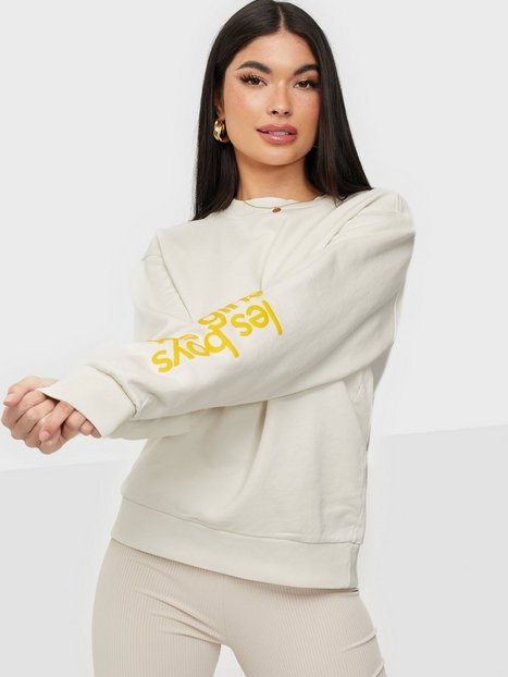 Les Girls Les Boys Ultimate Fit Sweats Crewneck Sweatshirts Grey