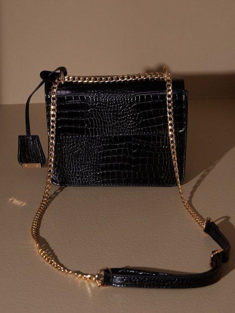 Glamorous Croc Shoulder Bag Skuldertasker