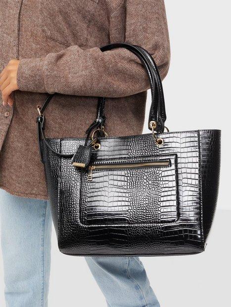 Se Glamorous Croc PU Bag Skuldertasker ved Nelly