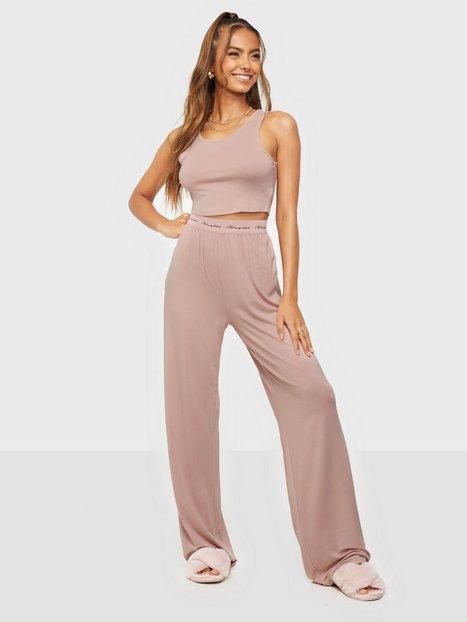 Missguided Scoop Vest MG Wide Leg Pyjamasser & hyggetøj