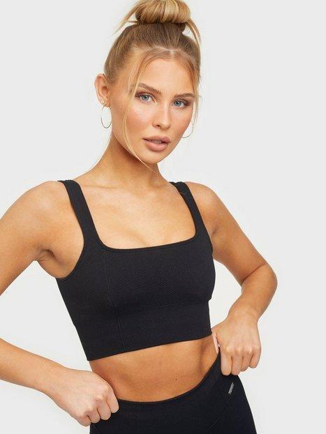 Aim'n Luxe Seamless Bra Sports-BH medium support Black