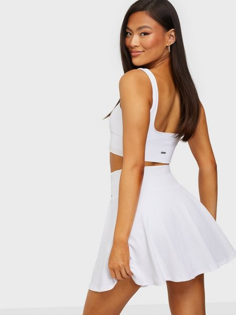 Aim'n Luxe Tennis Skirt Shorts - loose fit White