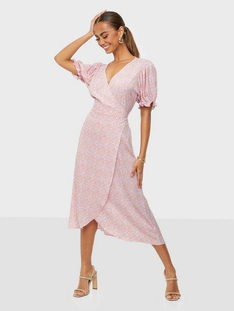 Neo Noir Carli Ladybird Flower Dress Slå-om-kjoler