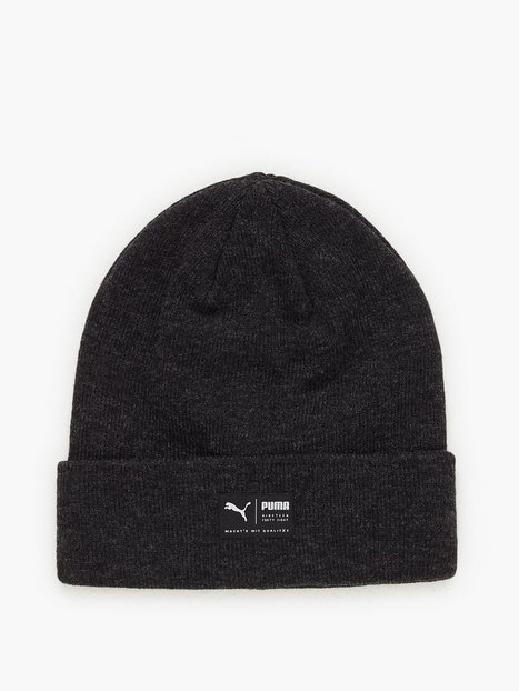 Puma Archive Heather Beanie Huer Black - herre