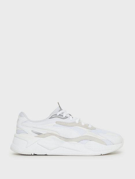 Puma Rs X Puzzle Sneakers Silver White mand køb billigt