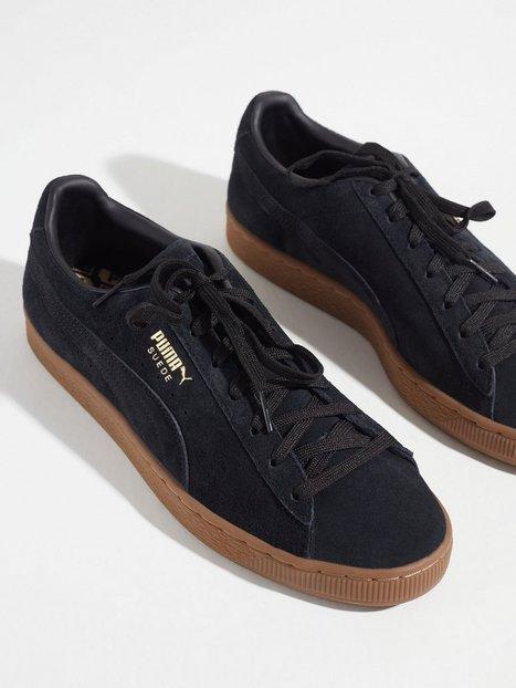 Puma Suede Gum Sneakers Black
