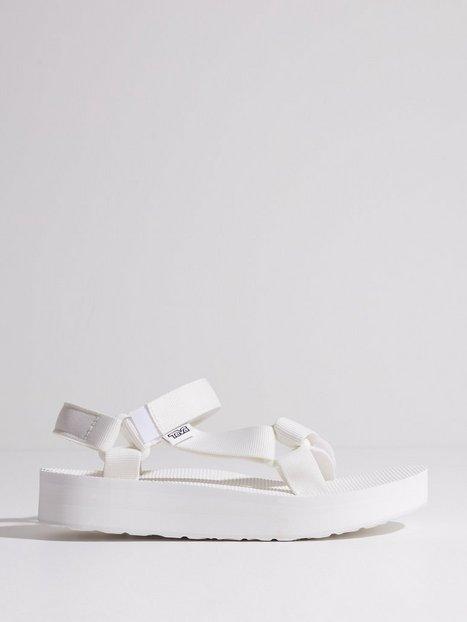 Teva Midiform Universal Sandaler Bright White