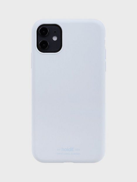 Holdit Silicone Case iPhone 11 Mobilcovere Blue