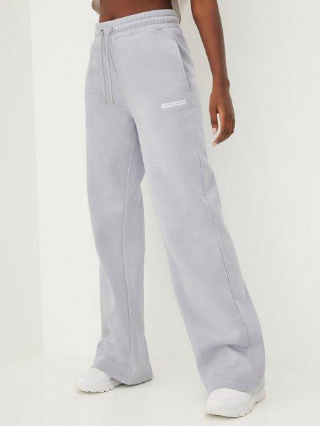 Calvin Klein Jeans Micro Flock Jog Pants Joggingbukser Grå