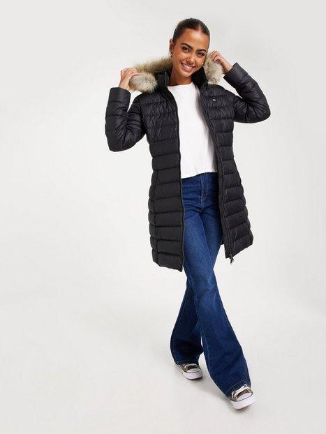 Tommy Jeans Tjw Essential Hooded Down Coat Dunjakker