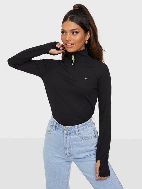 Tommy Jeans Tjw Slim Technical Quarter Zip Sweatshirts
