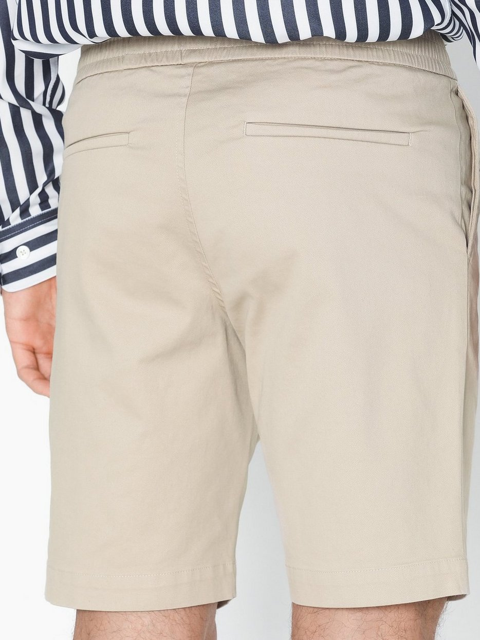 M. Terry Cotton Twill Shorts