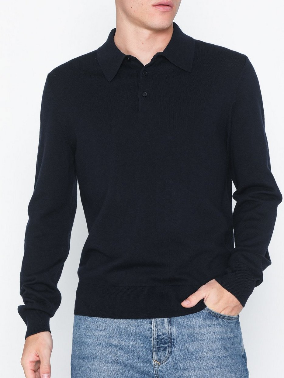 M. Cotton Merino Knitted Polos