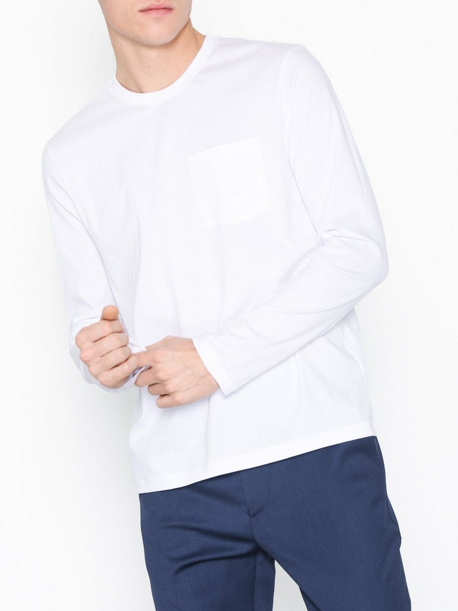 M. Mercerised Long Sleeve Tee