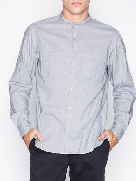 Hope Rick Shirt Skjorter Grey Melange mand køb billigt