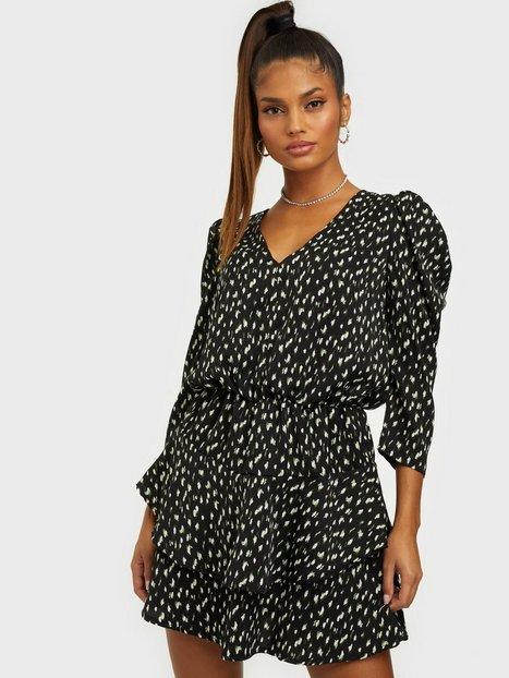 Ax Paris Puff sleeve mini dress Klänning