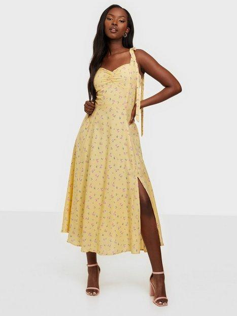 Bardot Midi Bow Tie Dress Loose fit dresses