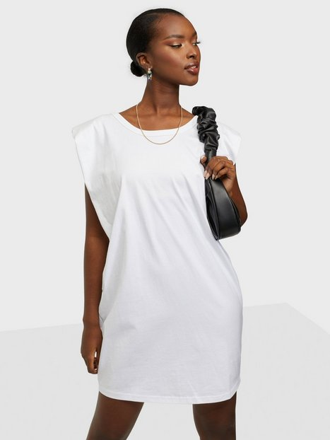 Bardot Shoulder Pad Mini Dress Loose fit