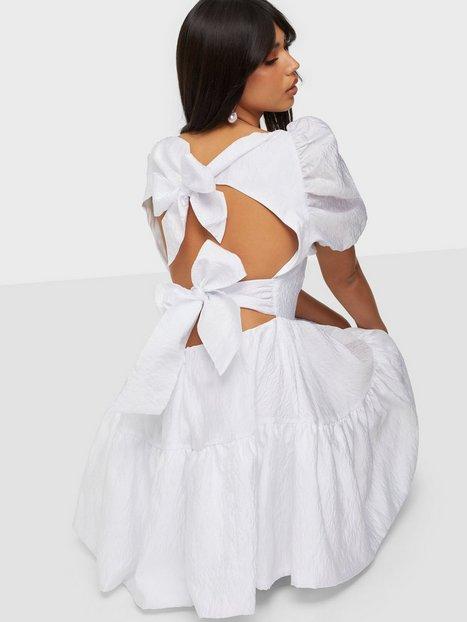 Bardot Mini Tiered Bow Back Dress Skater Dresses