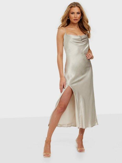 Bardot Valora Midi Slip Dress Loose fit