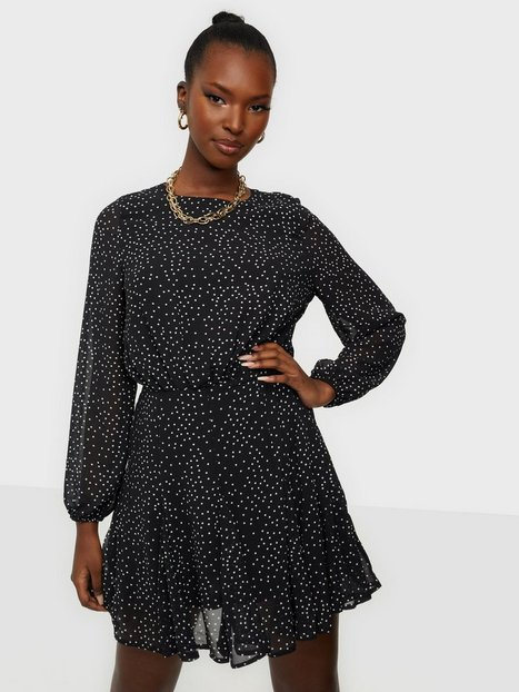 Ax Paris Long Sleeve Mini Dress Langærmede kjoler