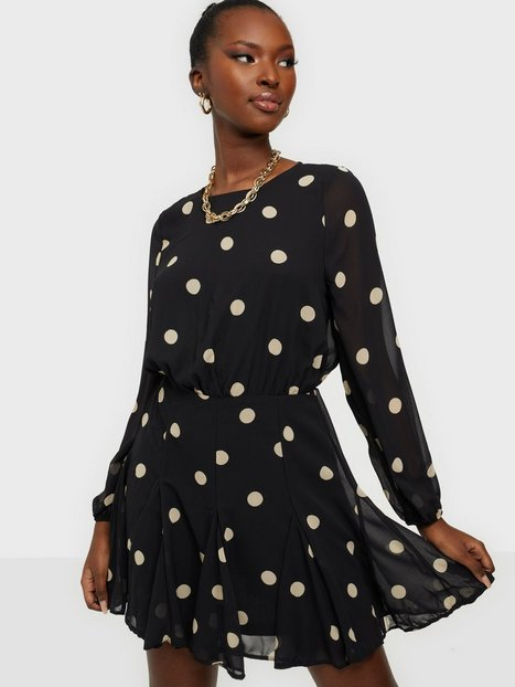 Ax Paris Balloon Sleeve Mini Dress Langærmede kjoler