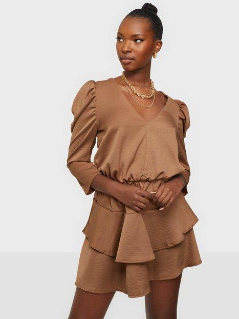 Ax Paris Short Puffsleeve Mini Dress Loose fit dresses