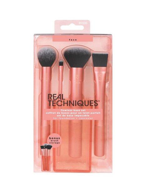 Real Techniques Flawless Base Set Pensler & makeupbørster