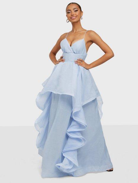 True Decadence High Low Flounce Maxi Dress Maxikjoler