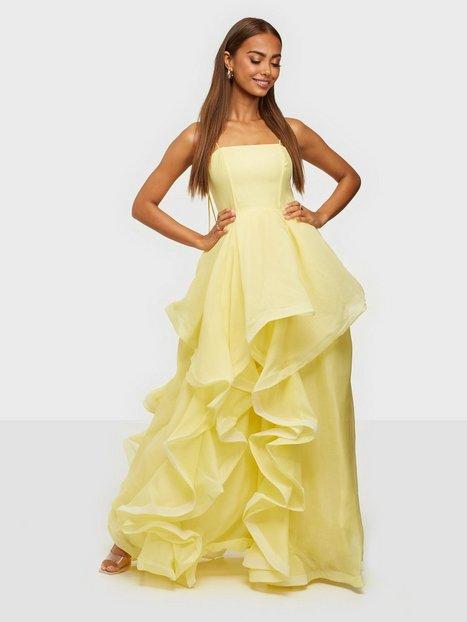 True Decadence High Low Flounce Dress Maxikjoler