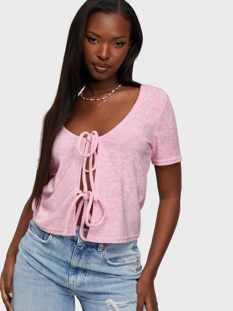 Glamorous Double Knot Top Crop tops