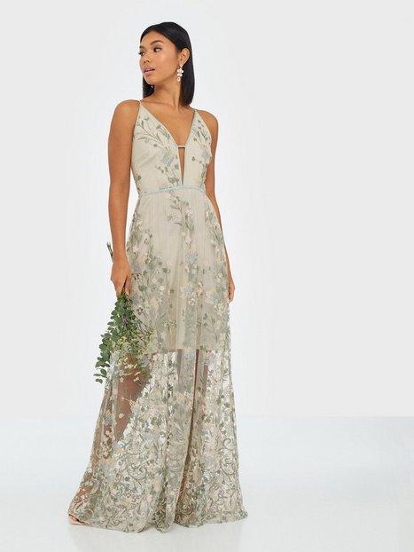 True Decadence Sheer Flower Dress Maxikjoler