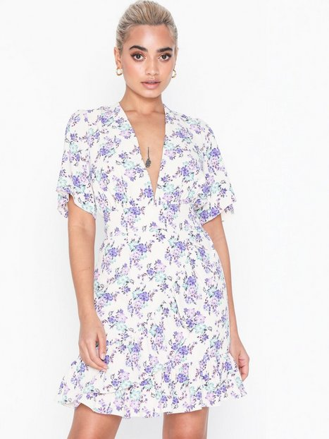 Billede af Glamorous Short Sleeve Bloom Dress Loose fit dresses
