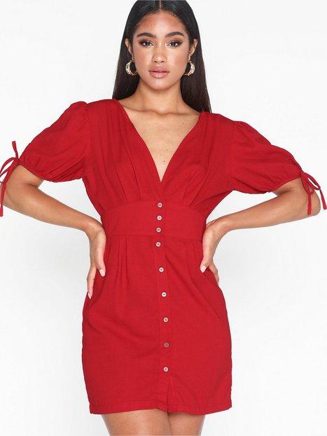 Billede af Glamorous Short Sleeve Short Dress Loose fit dresses