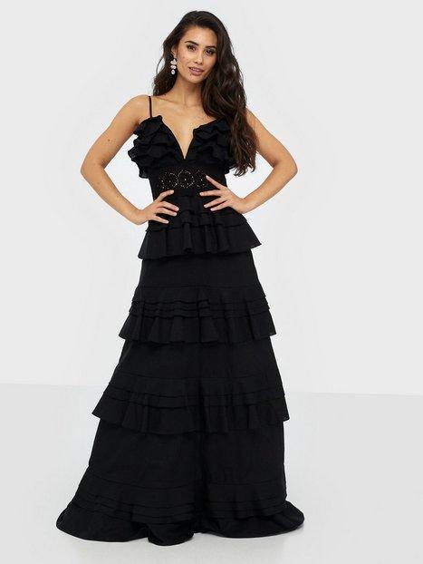 True Decadence Linen Maxi Dress Maxikjoler