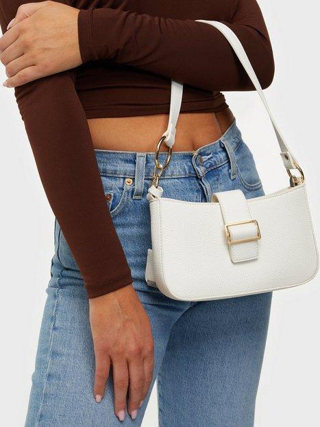 Glamorous Shoulder Bag With Buckle Detail Skuldertasker