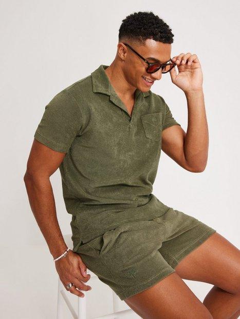 OAS Terry Shirt Skjorter Khaki