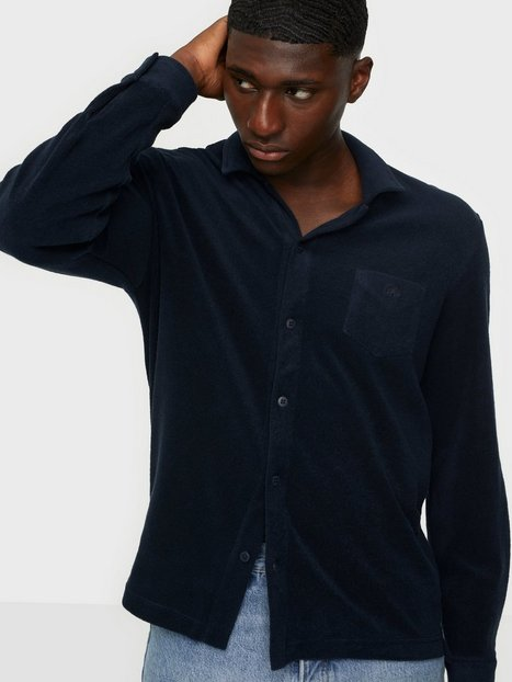 OAS Terry Shirt Camisa Skjorter Navy