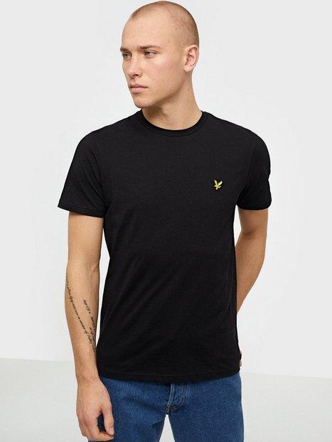 Lyle & Scott Crew Neck T-Shirt T-shirts & undertrøjer Jet Black