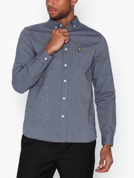 Lyle & Scott Oxford Shirt Skjortor Dusty Blue