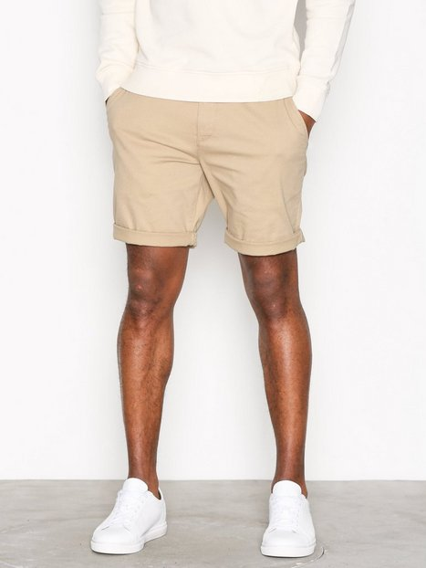 Lyle Scott Chino Short Shorts Stone - herre