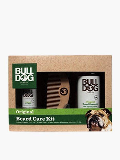 Bulldog Original Beard Care Kit Ansigtspleje Grøn - herre