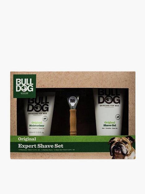 Bulldog Original Expert Shave Set Ansigtspleje Grøn mand køb billigt