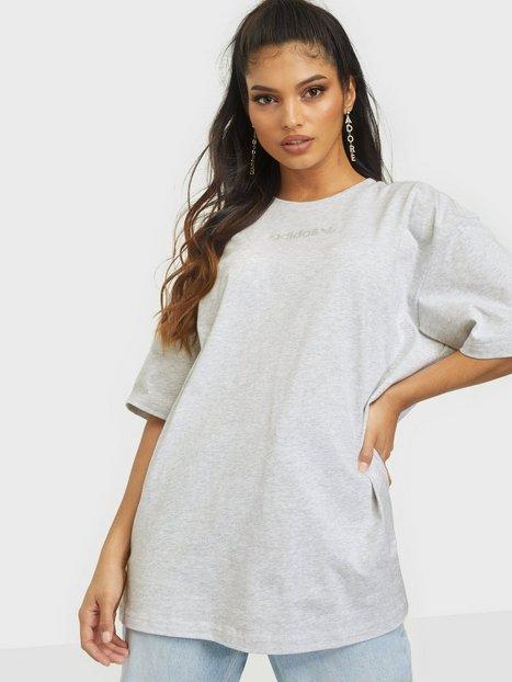 Adidas Originals T-Shirt T-shirts Light Grey