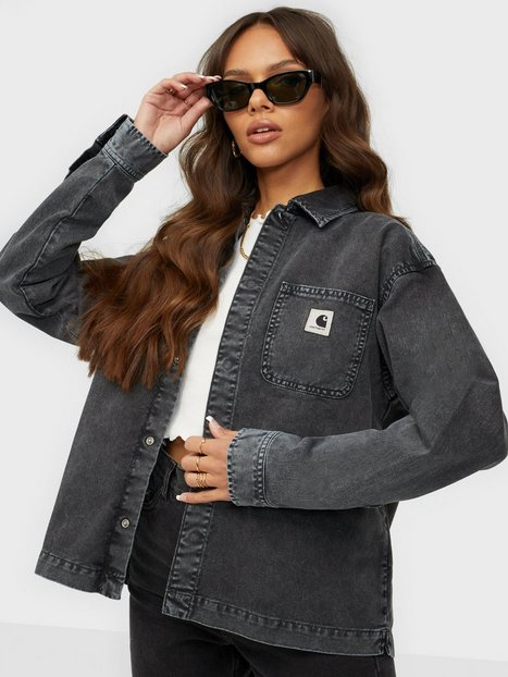 Carhartt WIP W' Sonora Shirt Jac Denimjakker Black