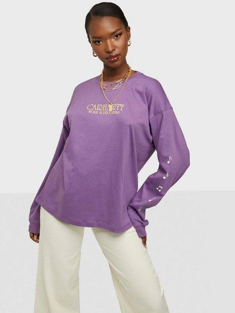 Carhartt WIP W' L/S Note Script T-Shirt Langærmede toppe