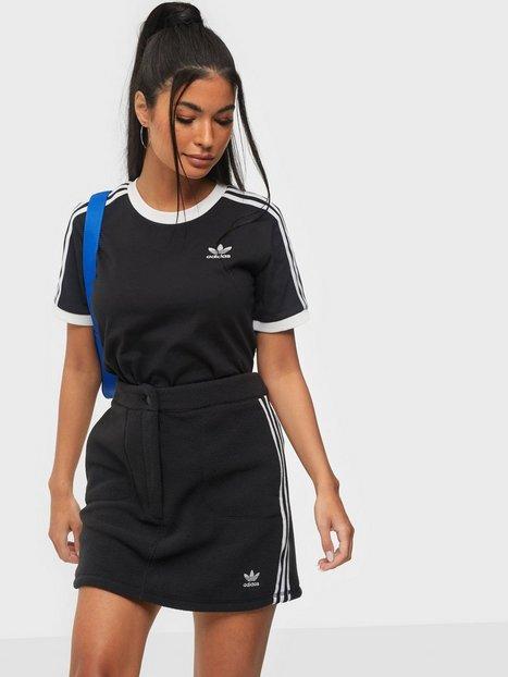 Adidas Originals Fleece Skirt Minikjolar Black